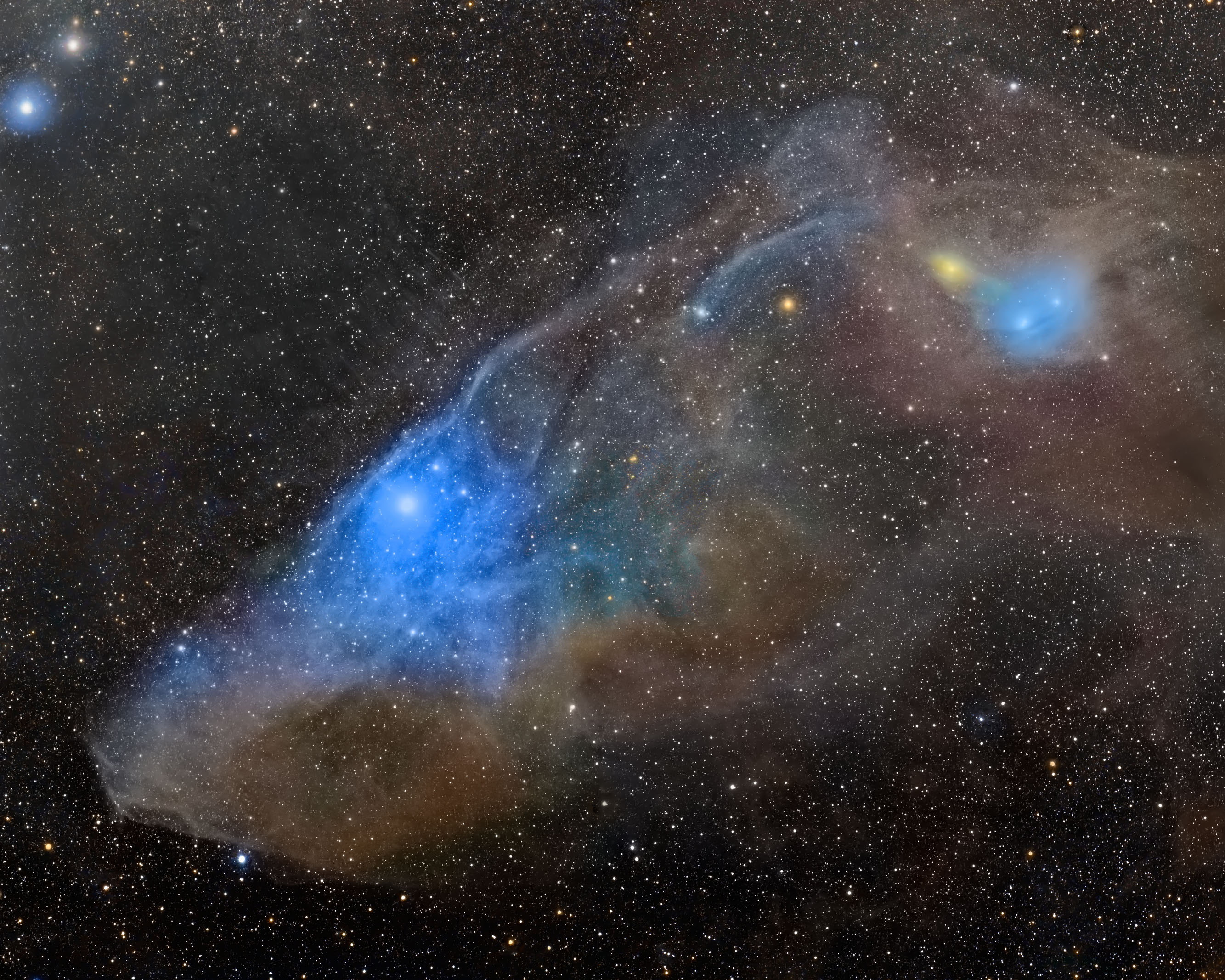Cadwell Blue Horsehead Nebula